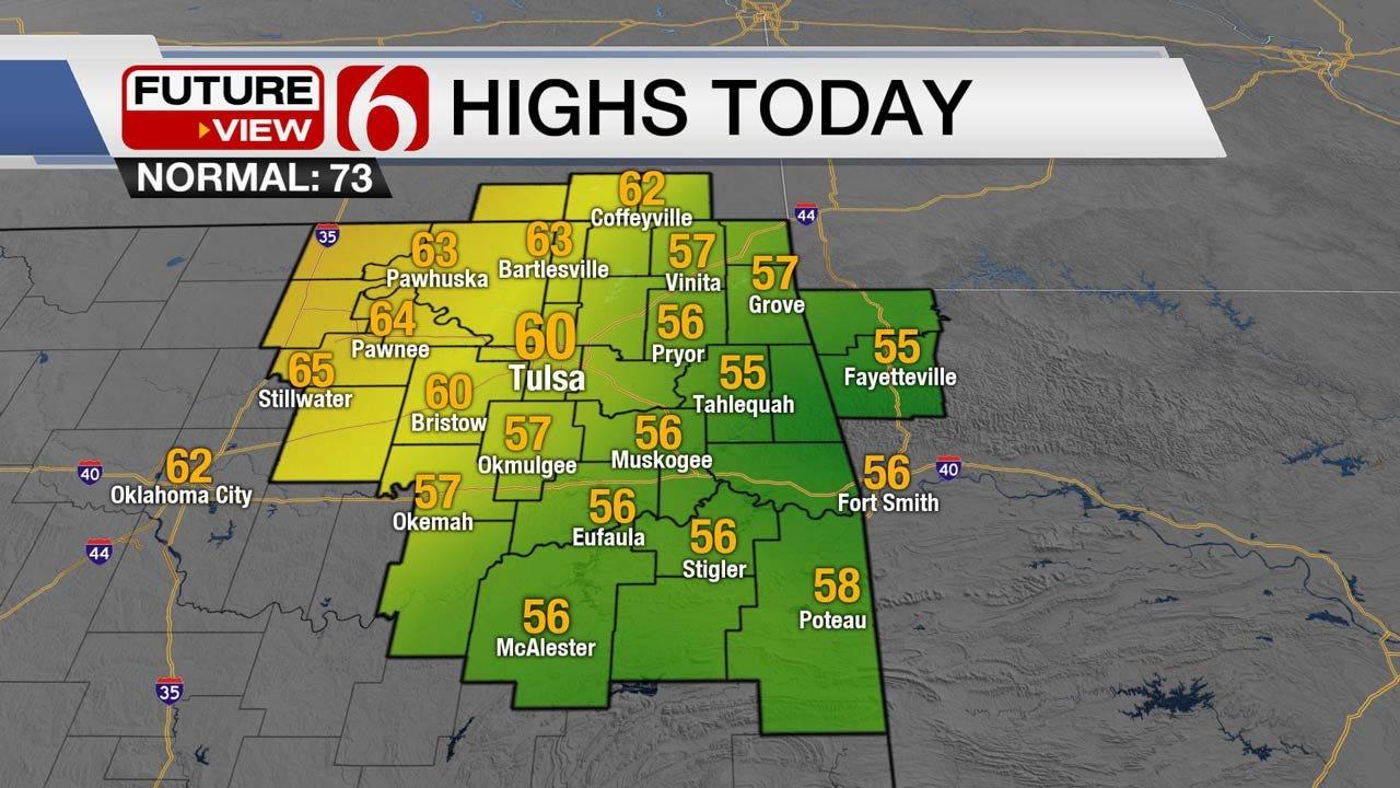 Friday Rain Brings Weekend Sunshine To Oklahoma