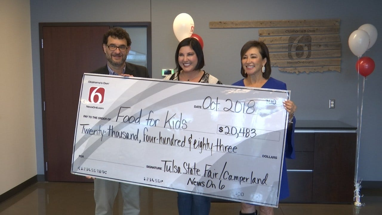 News On 6 Presents Community Food Bank With $20,483