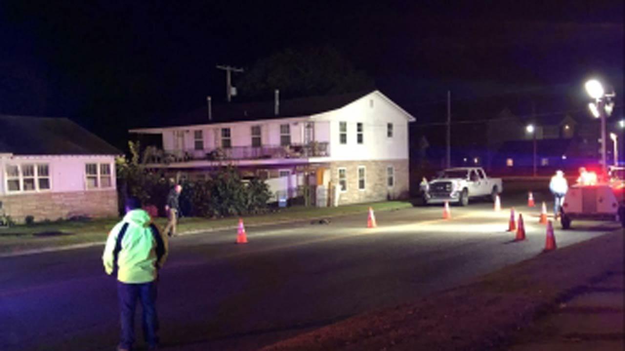 Police: Man Struck Crossing Bartlesville Highway