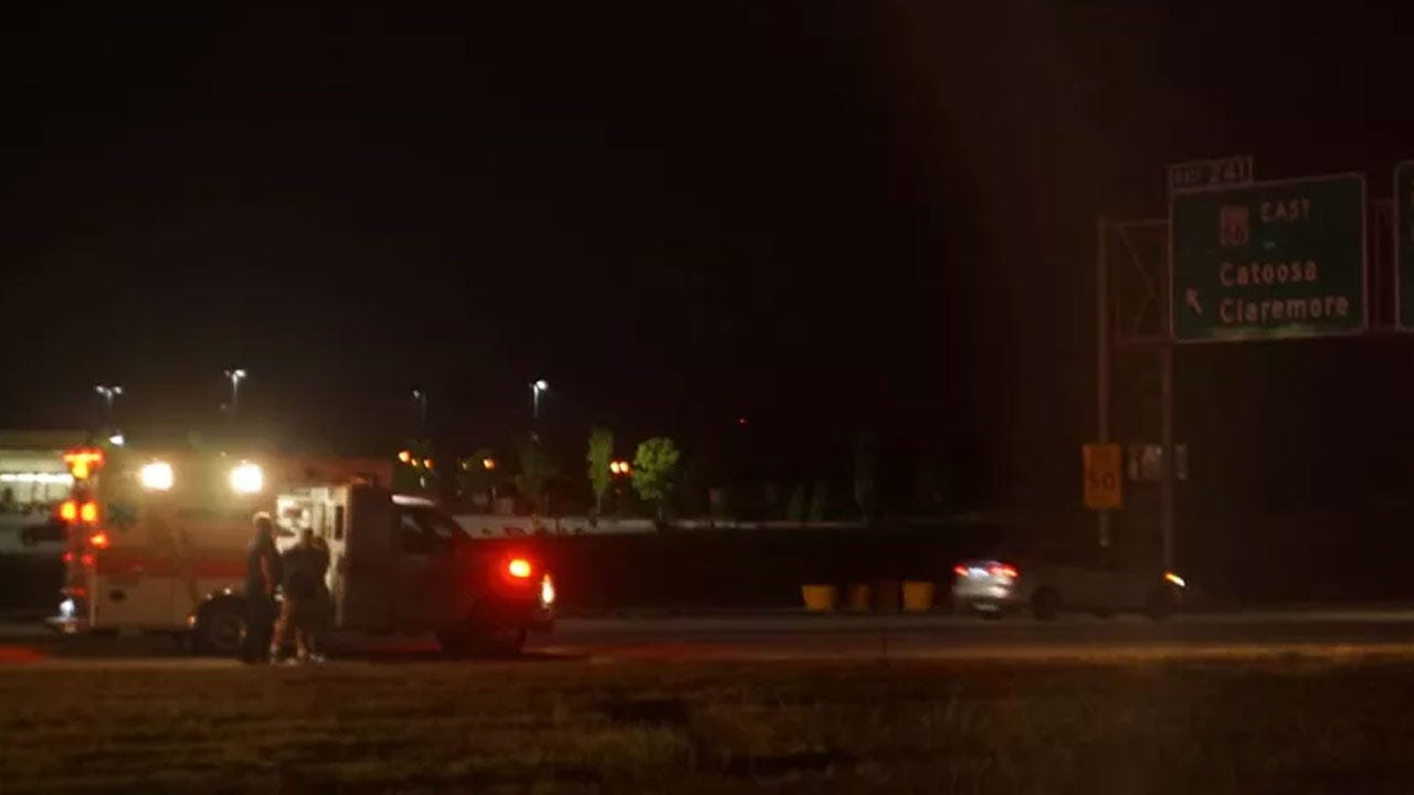 Tahlequah Man Killed Trying To Cross I-44 In Catoosa