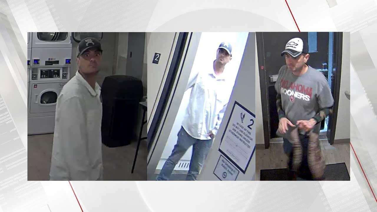Tulsa Police Looking For 'Deer In The Headlights' Burglar