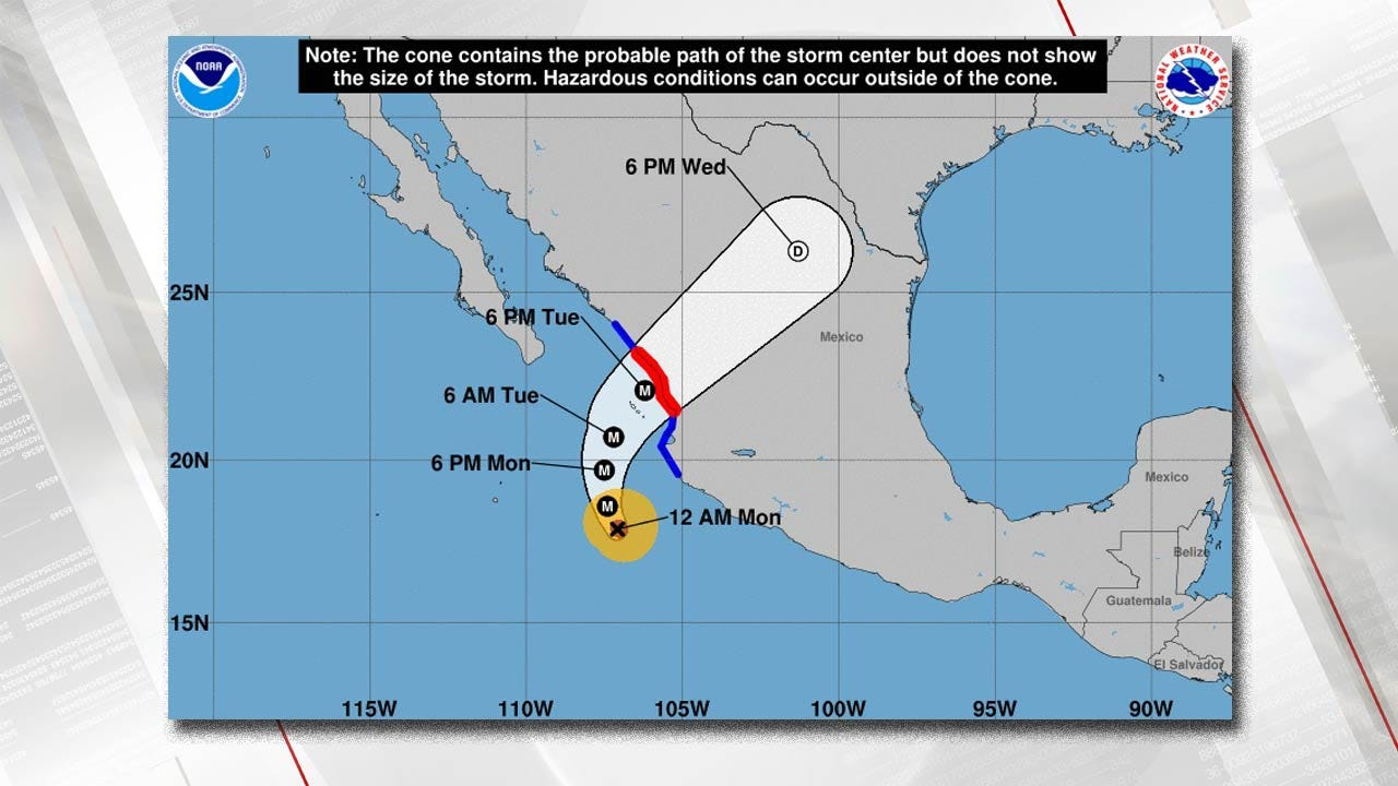 Hurricane Willa On Verge Of Becoming Category 5 Storm