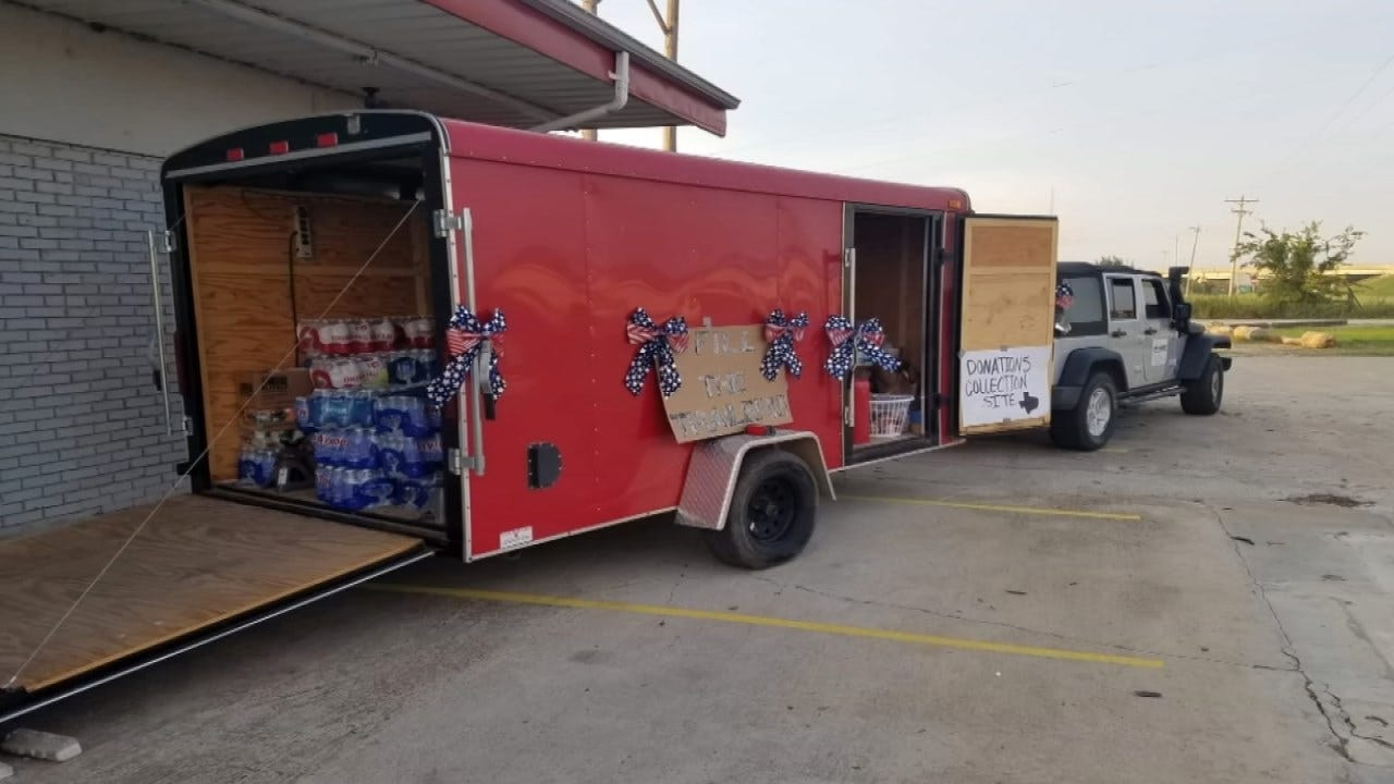 Trailer Full Of Supplies Meant For Hurricane Victims Stolen In Muskogee County