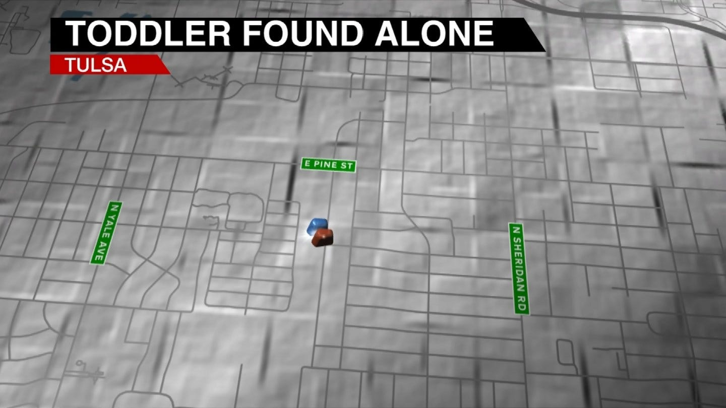 2-Year-Old Found Wandering Alone In Tulsa