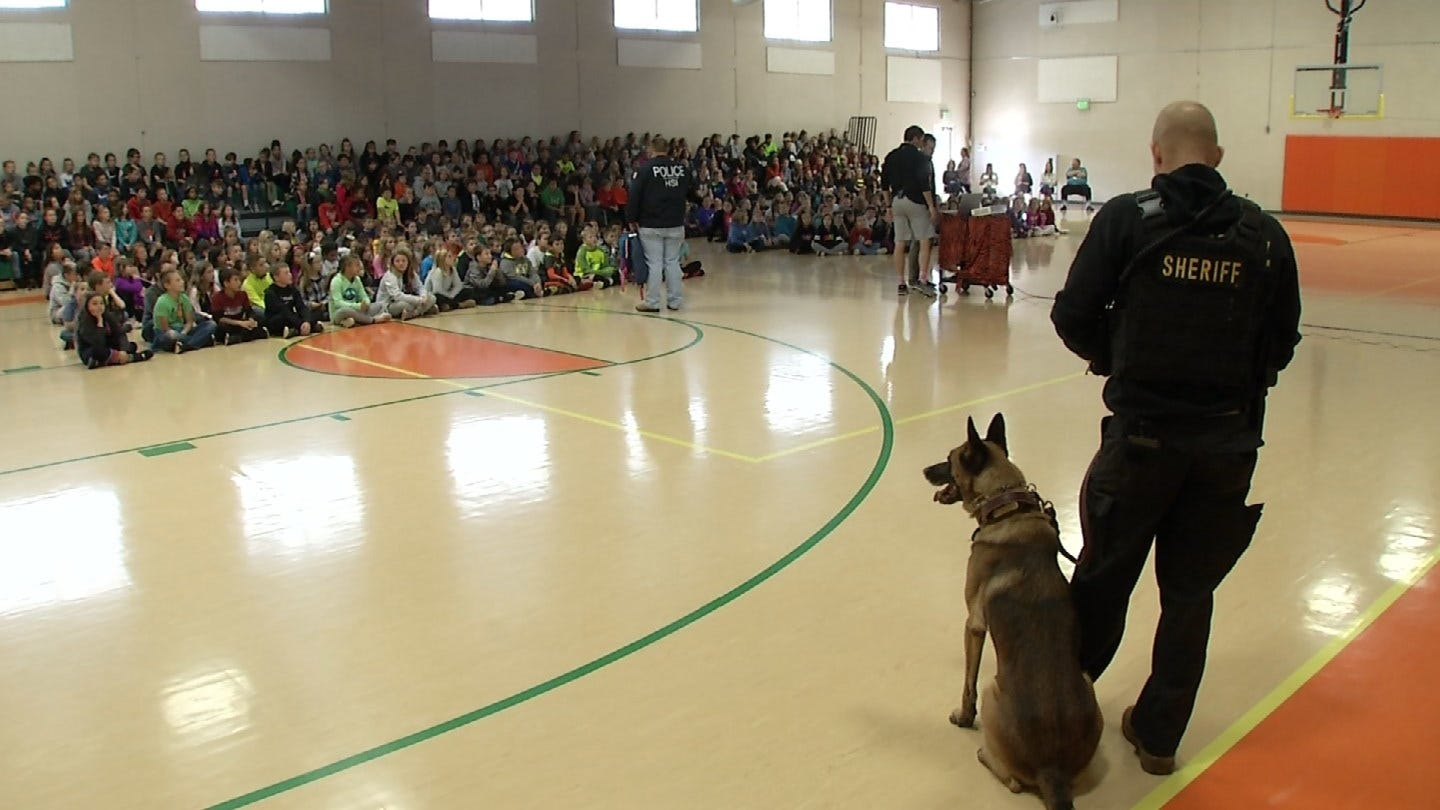 Coweta Students Learn About Dangers Of Drugs, Alcohol