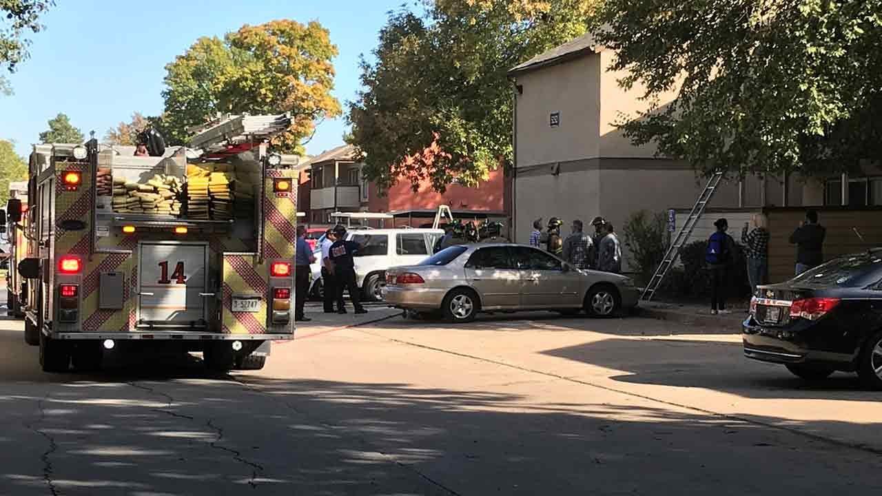 Tulsa Fire Crews Put Out Apartment Fire