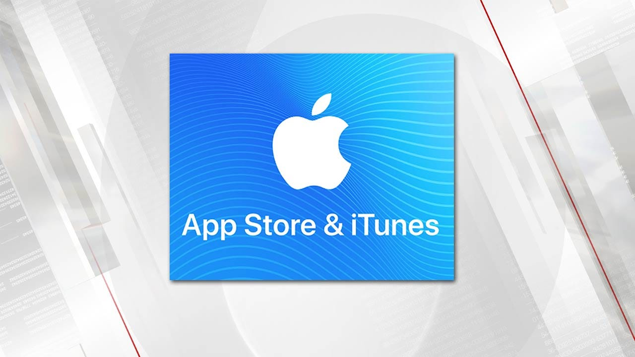 Tulsa Police Warn Of iTunes Gift Card Email Scams