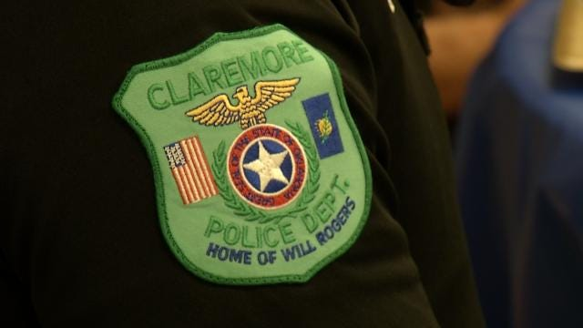 Claremore Police Officer Helps Mother With Choking Baby