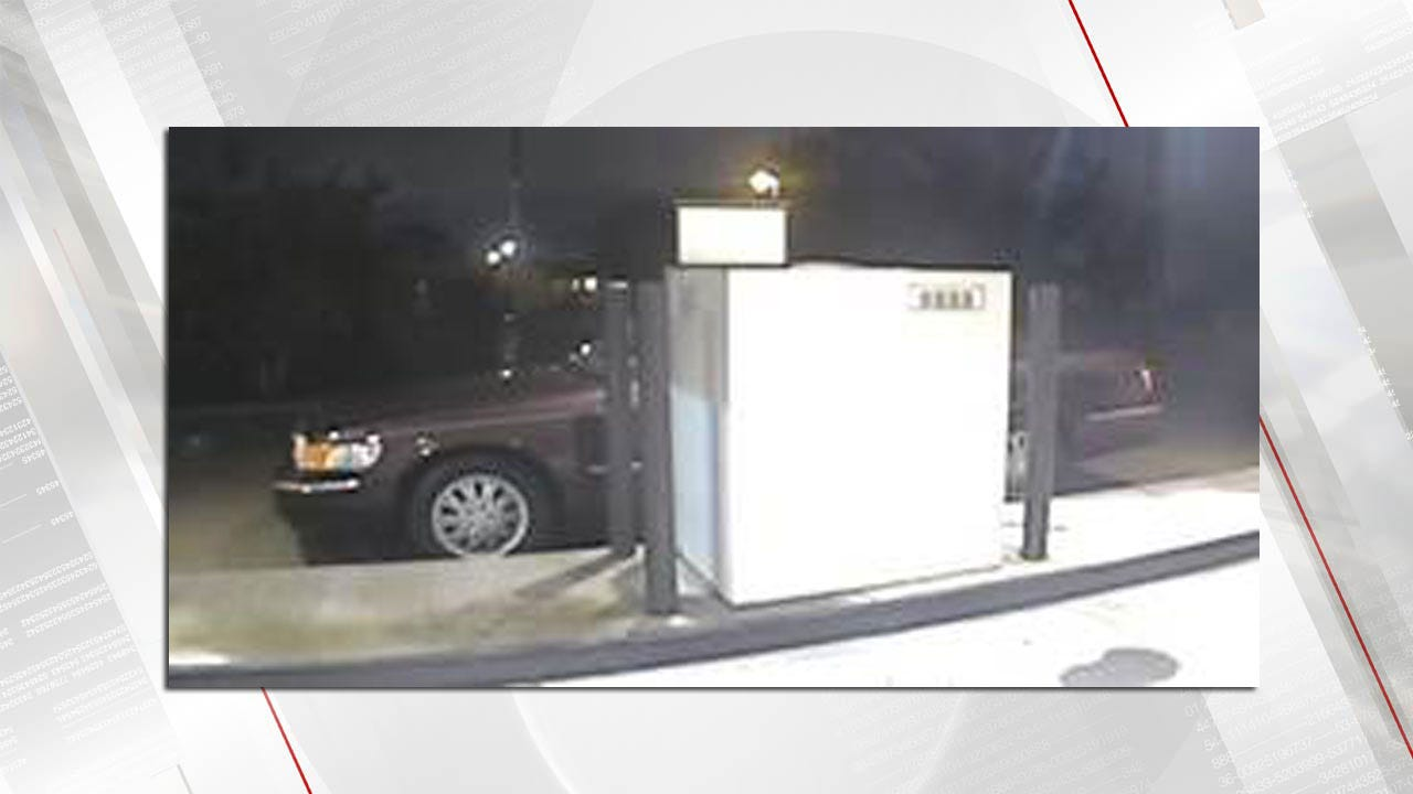 Jenks Police Search For ATM Card Skimming Suspects