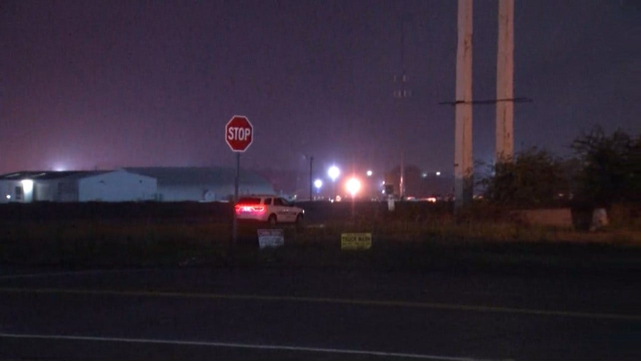Catoosa Police Search For Garfield County Burglary Suspect