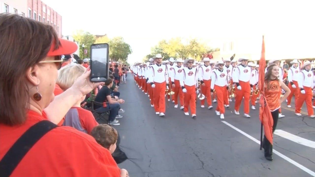 It's Homecoming Week At Oklahoma State University