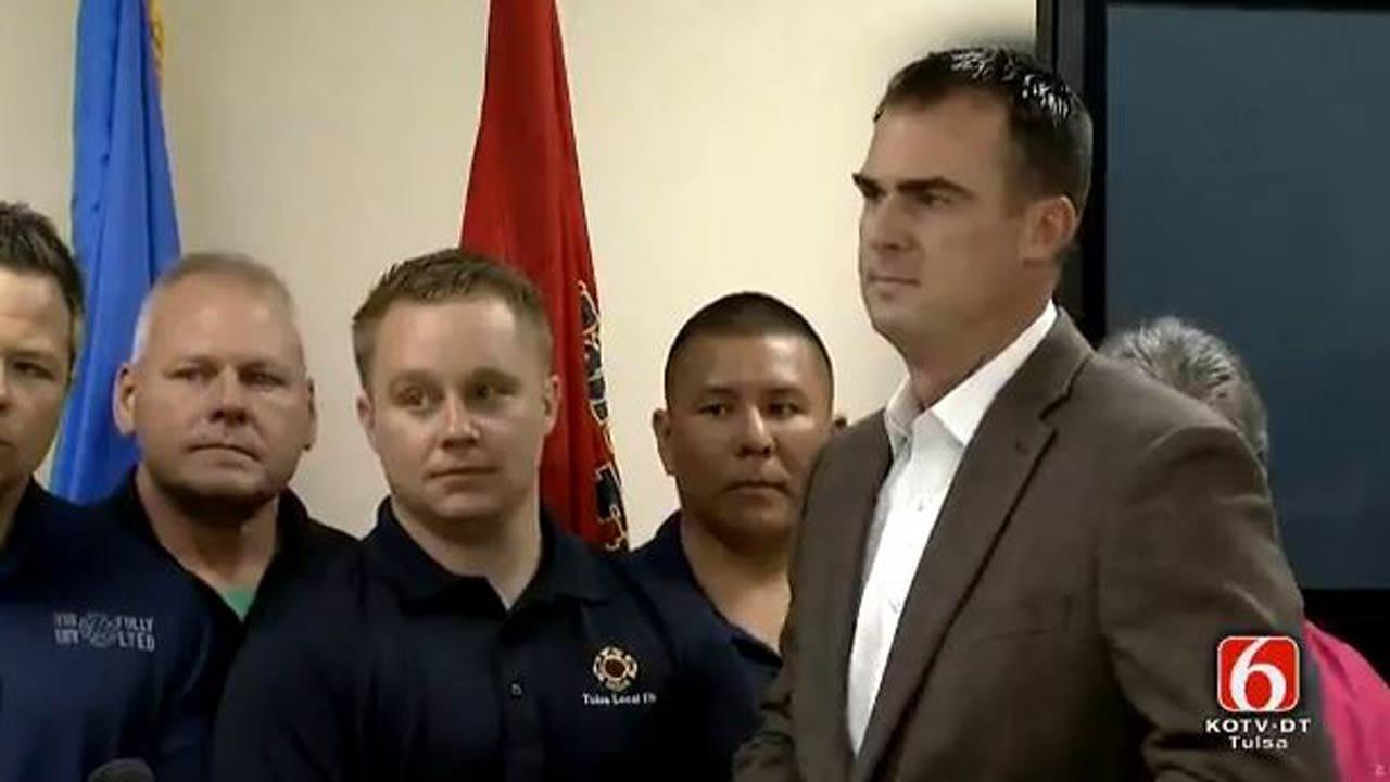 Tulsa Firefighter Union Endorses Kevin Stitt For Governor