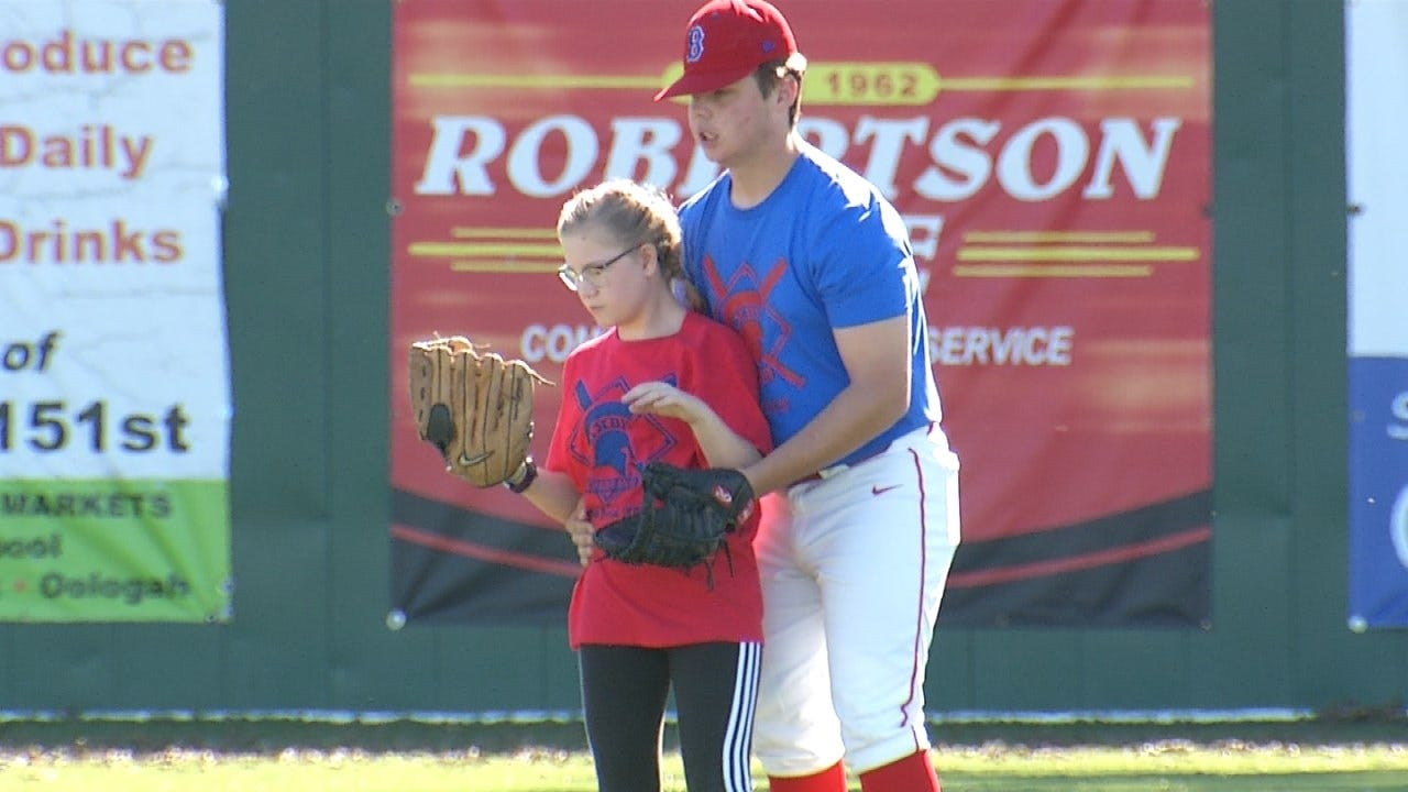 30 Students Take Part In Bixby's 4th Annual Buddy Baseball Game