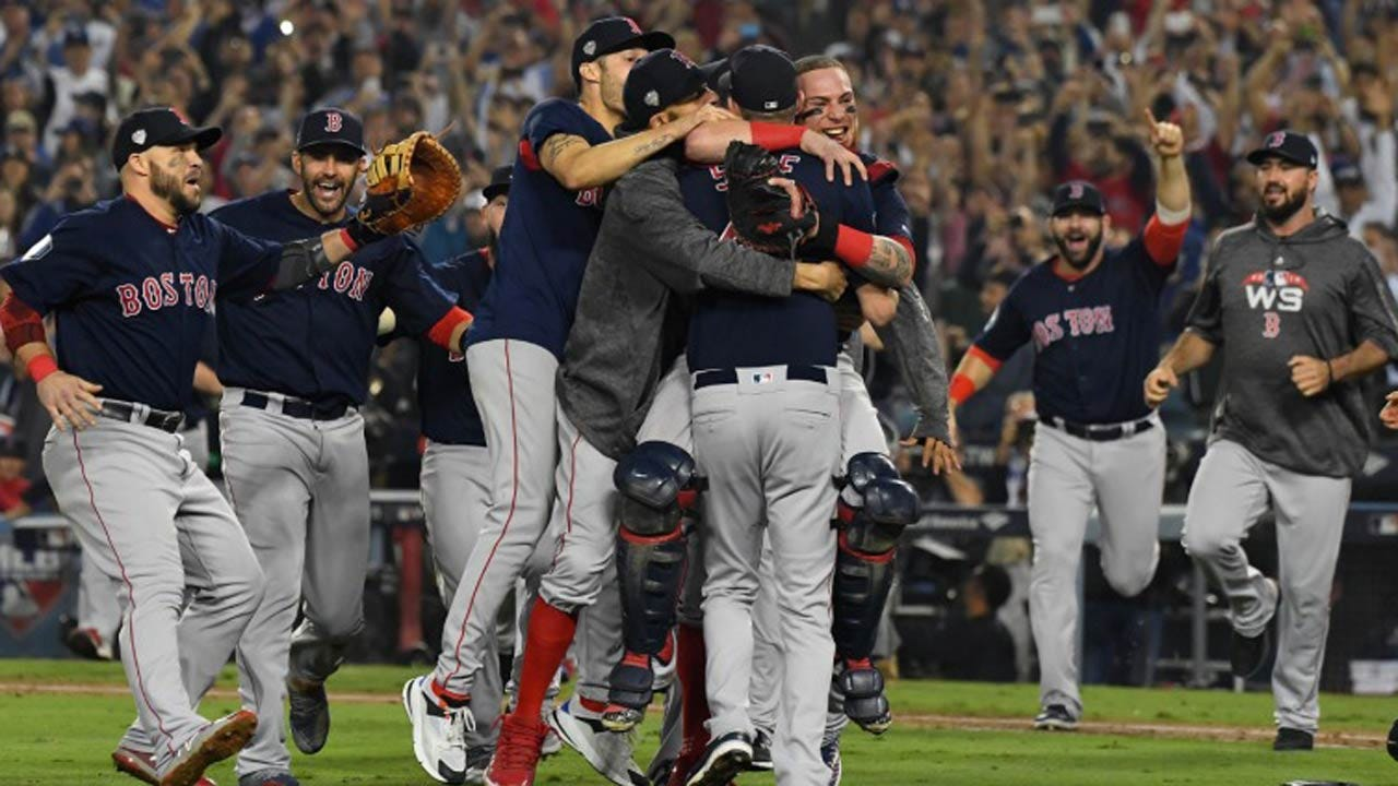 Red Sox Defeat Dodgers 5-1 In Game 5 To Win World Series