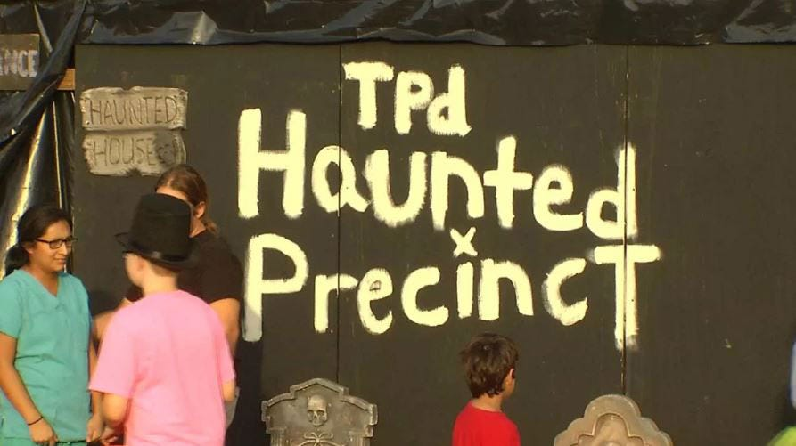 TPD To Host Family-Friendly Haunted Precinct