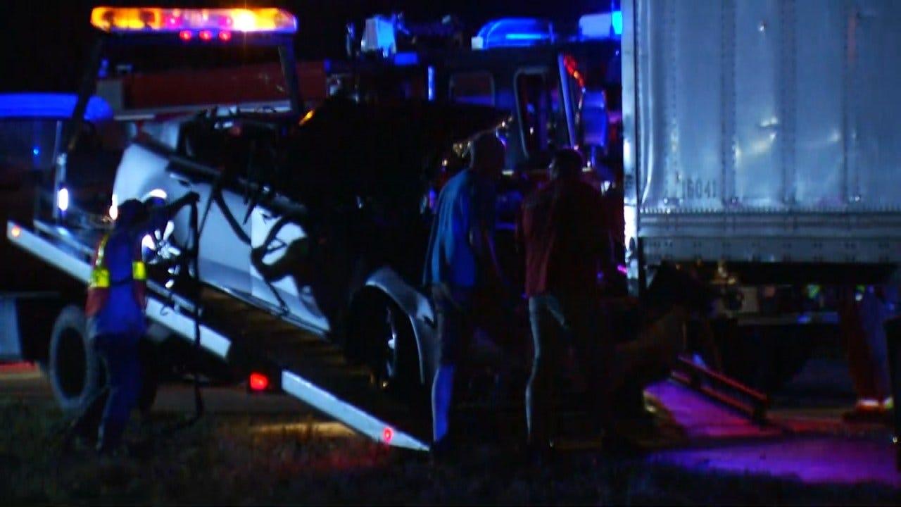Jenks Woman Injured In Highway Crash South Of Glenpool