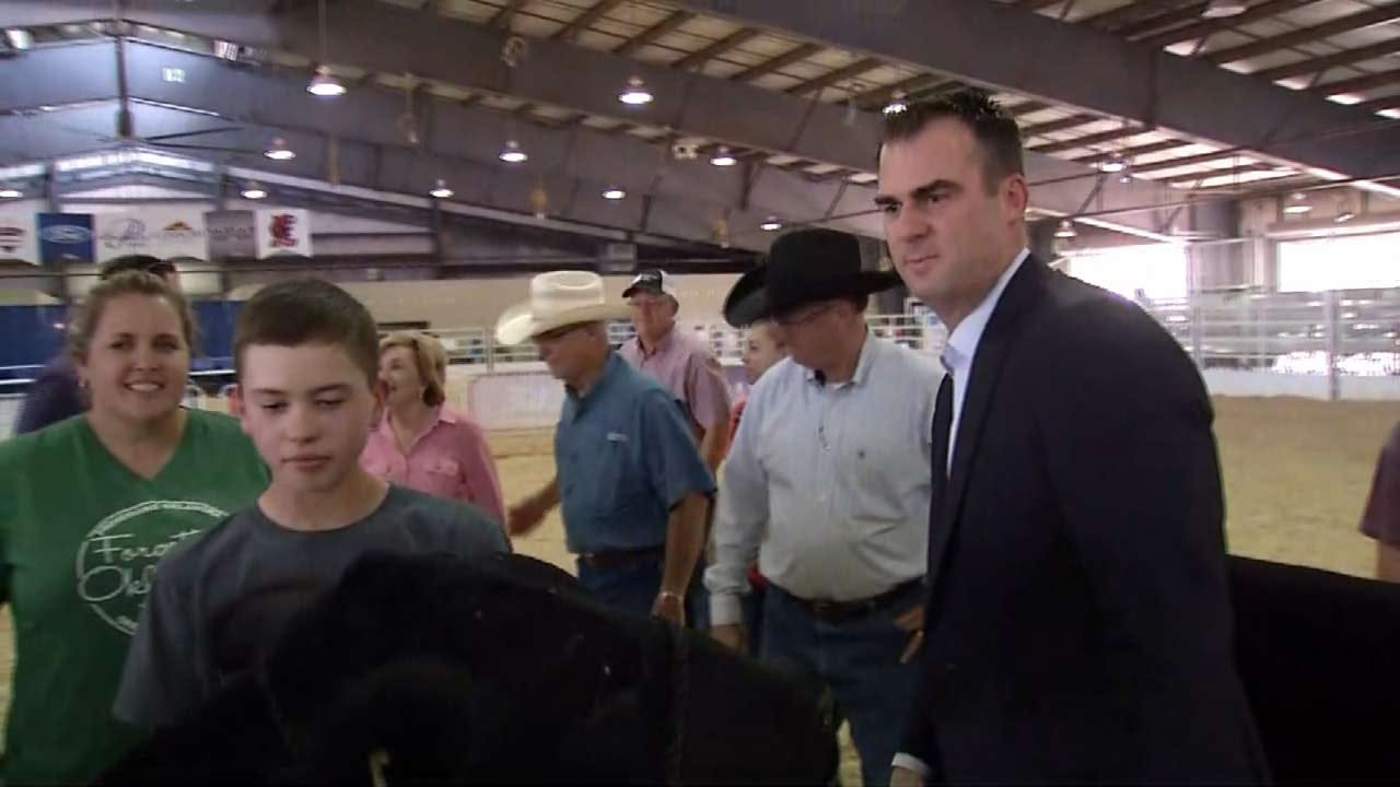 Stitt Talks Agriculture At Tulsa State Fair