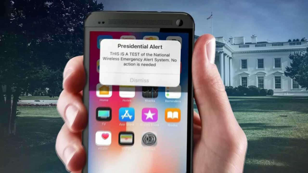 This Is A Test: Nation-Wide Presidential Alert Sent Out