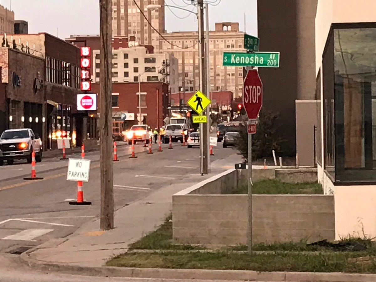 Downtown Tulsa Street Work May Cause Congestion
