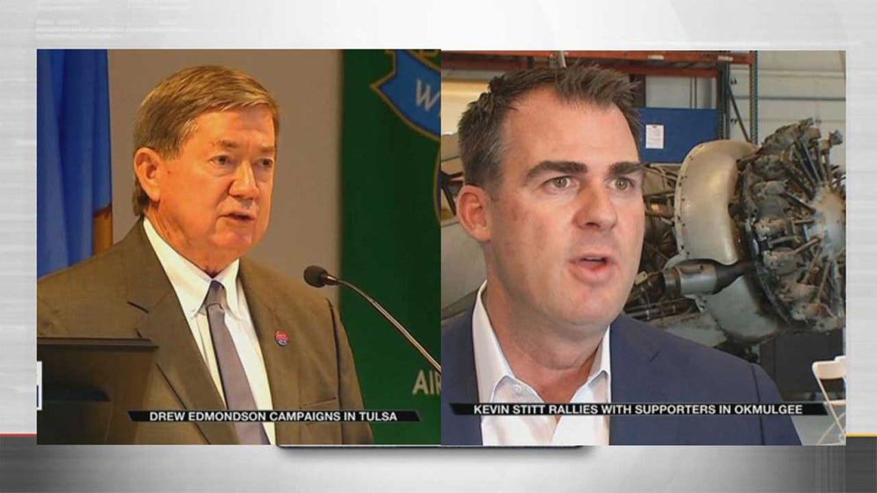 Exclusive News On 6 Poll: Whose Favorability Is Higher, Edmondson's Or Stitt's?