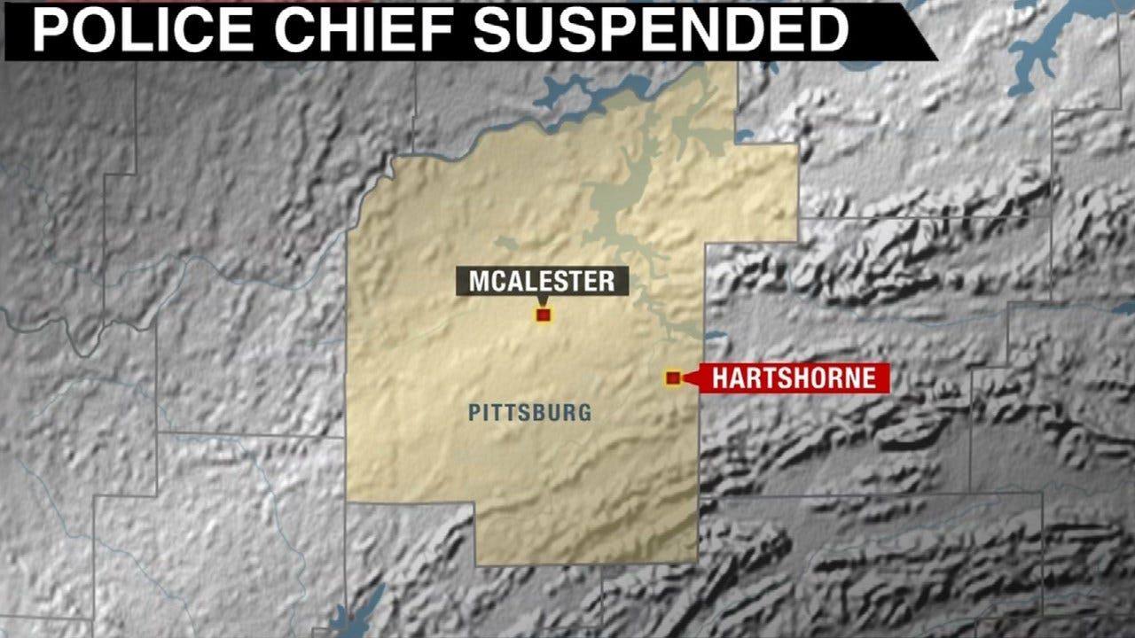 Hartshorne Police Chief Suspended