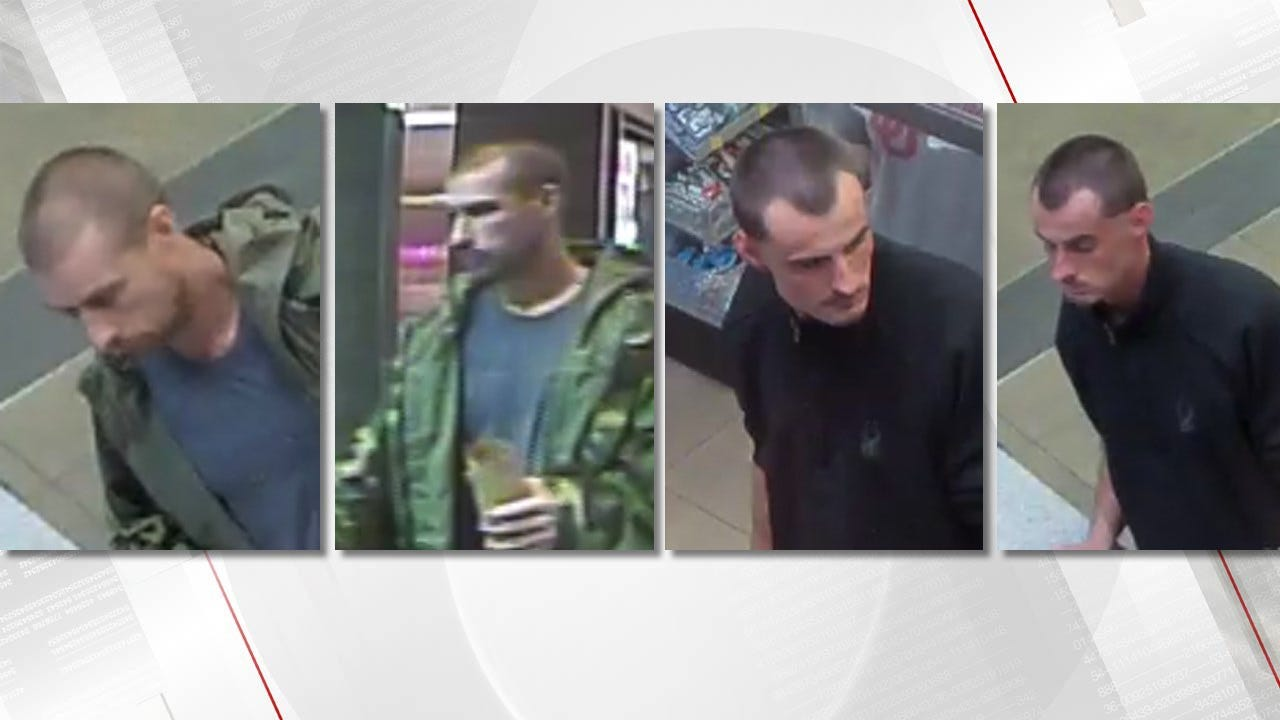 Rogers Co. Deputies Trying To Identify Men Suspected Of Stealing Cards, Cash