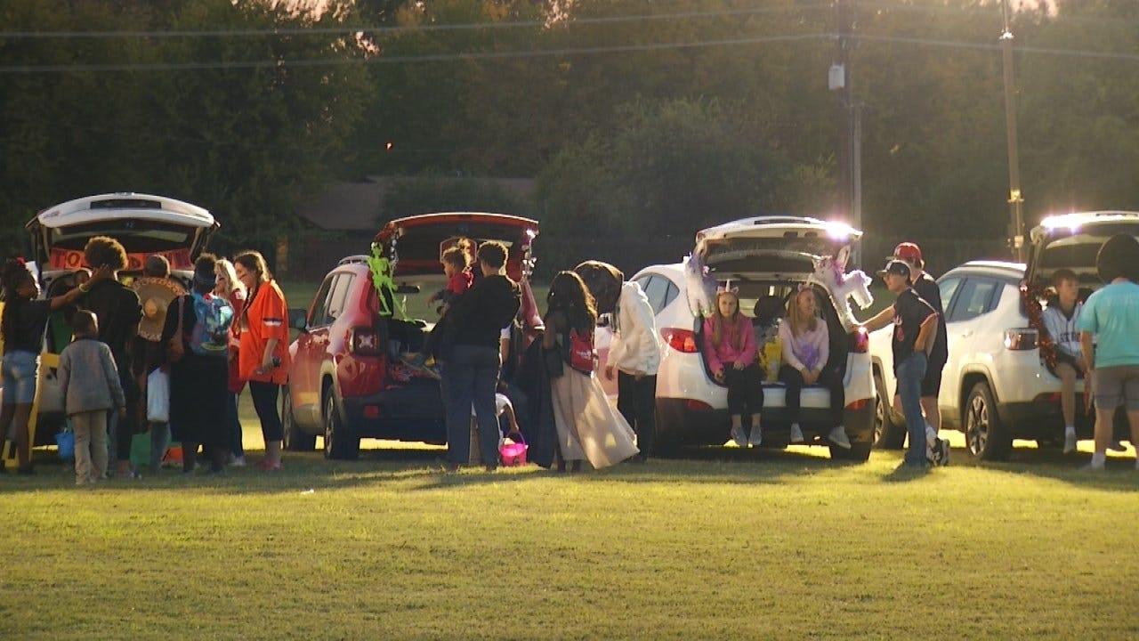 Tulsa School Holds Neighborhood Block Party