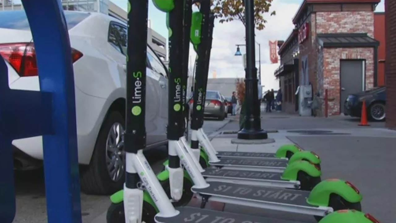 Tulsans Seem To Like Those New Lime Scooters