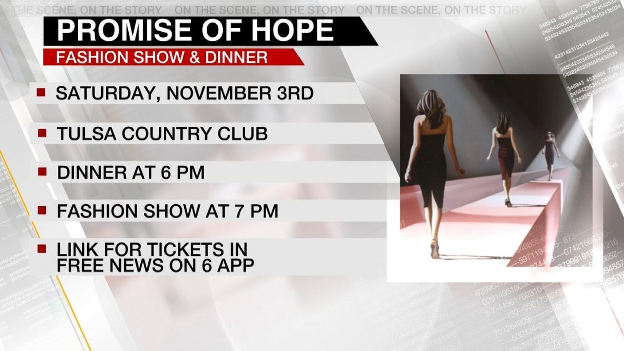 Tulsa's Promise Of Hope Dinner & Fashion Show This Saturday