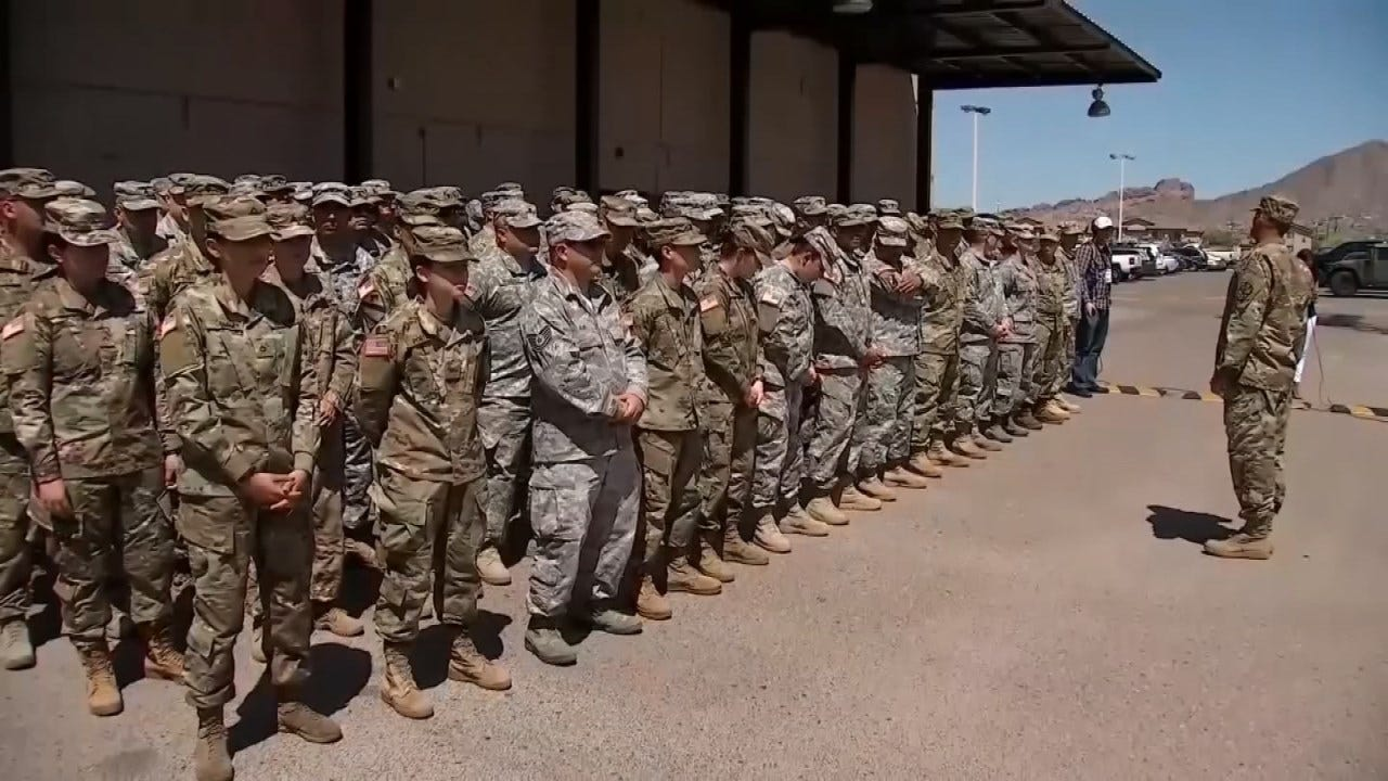 U.S. To Send Over 5,200 Troops To U.S.-Mexico Border
