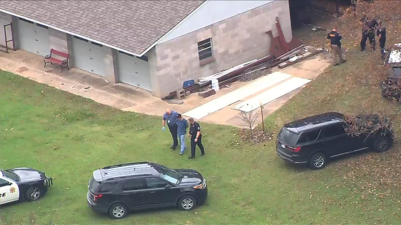 Man Suspected Of Theft Arrested After Sand Springs Police Chase