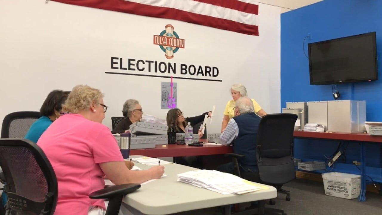 Tulsa County Election Board Seeing Huge Absentee Voting Numbers