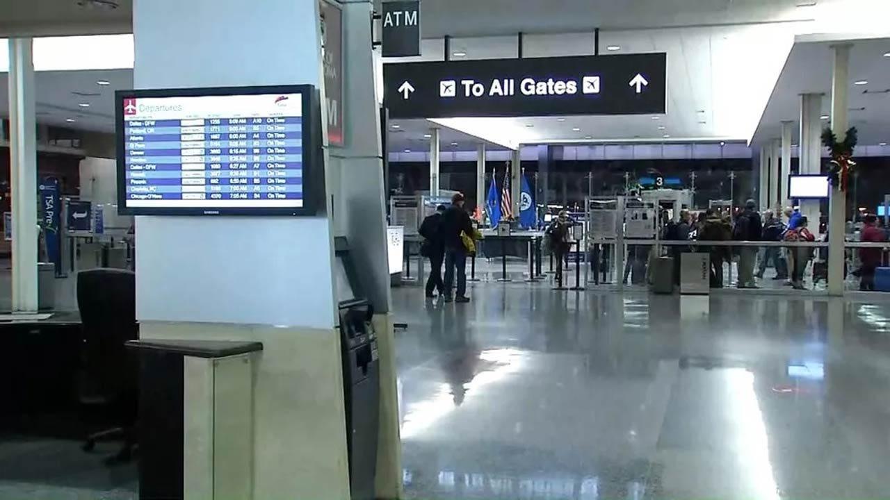 Security Breach Shuts Down Terminal At Tulsa International Airport