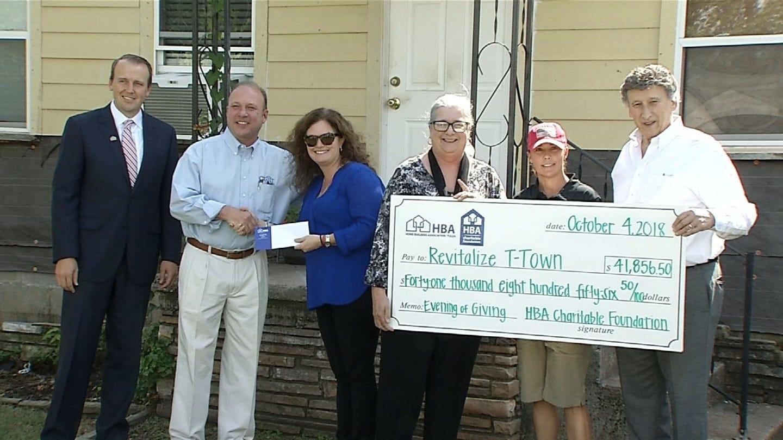 Tulsa Home Builders Association Presents $40,000 To Tulsa Non-Profit