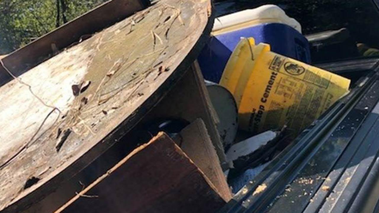 Deputies Looking For Whoever Dumped Remodeling Material Near Broken Arrow