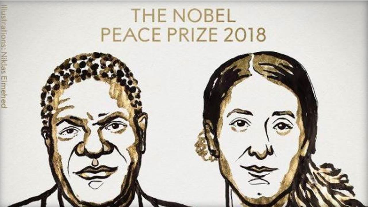 Nobel Peace Prize Honors Sexual Violence Fight