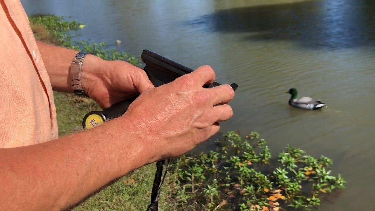 Two Oklahoma Men Create Remote Control Duck Decoy