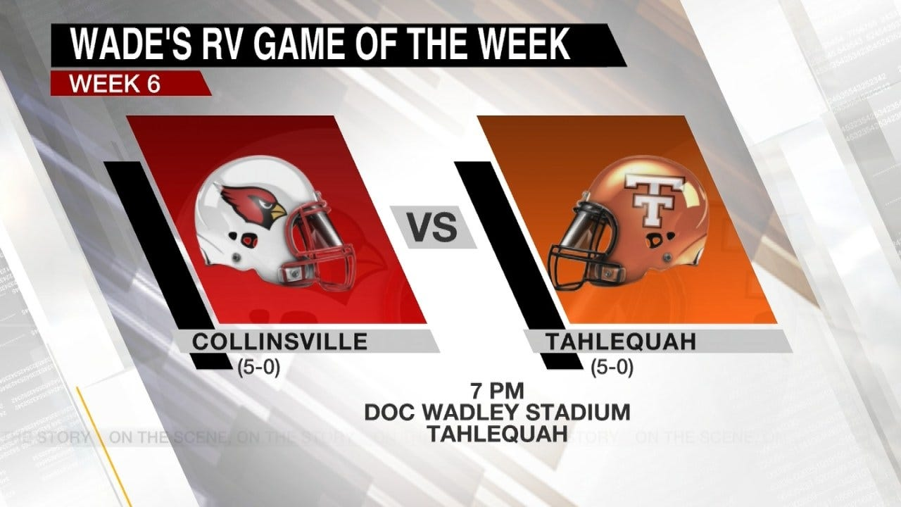 Wade's RV Game Of The Week: Collinsville 43 Tahlequah 8