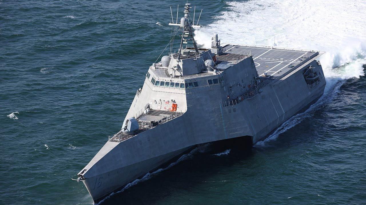 USS Tulsa Heading To California Naval Base