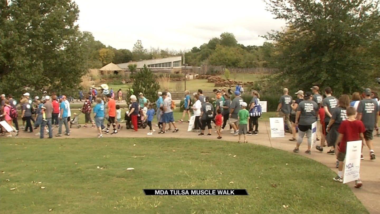 Tulsa Zoo Hosts MDA Tulsa Muscle Walk