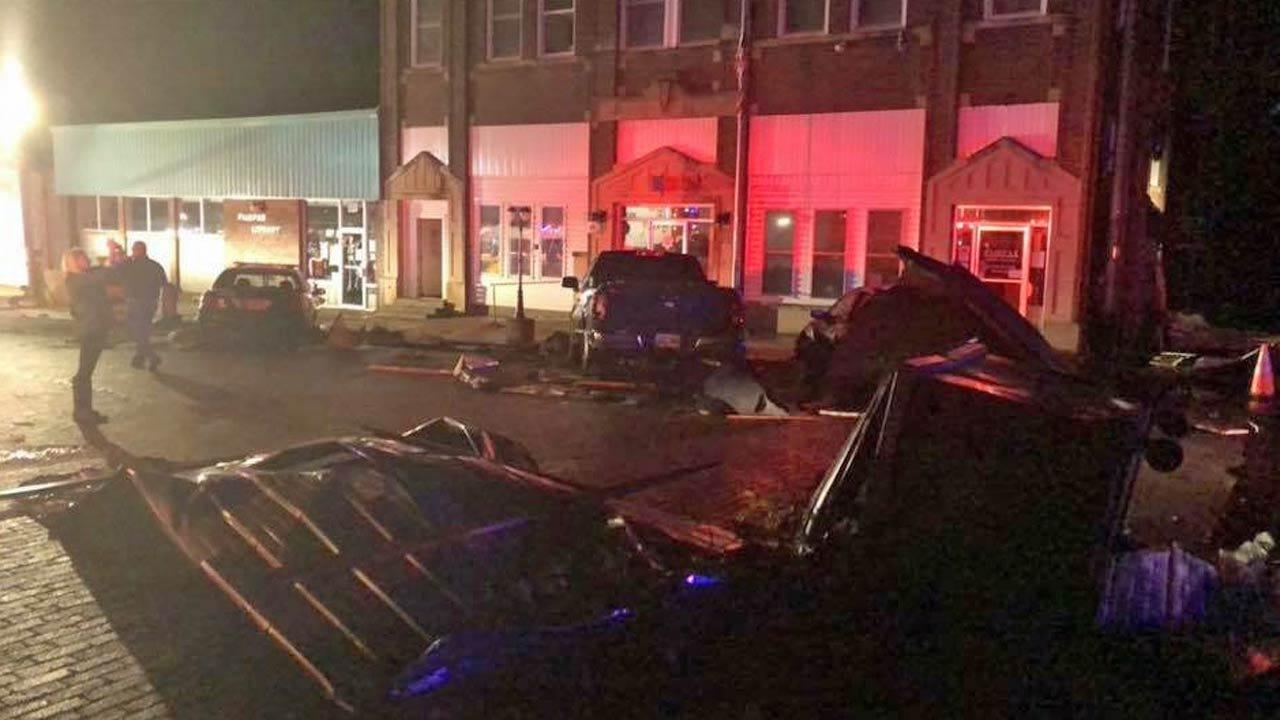 Apparent Tornado Leaves Behind Damage In Fairfax