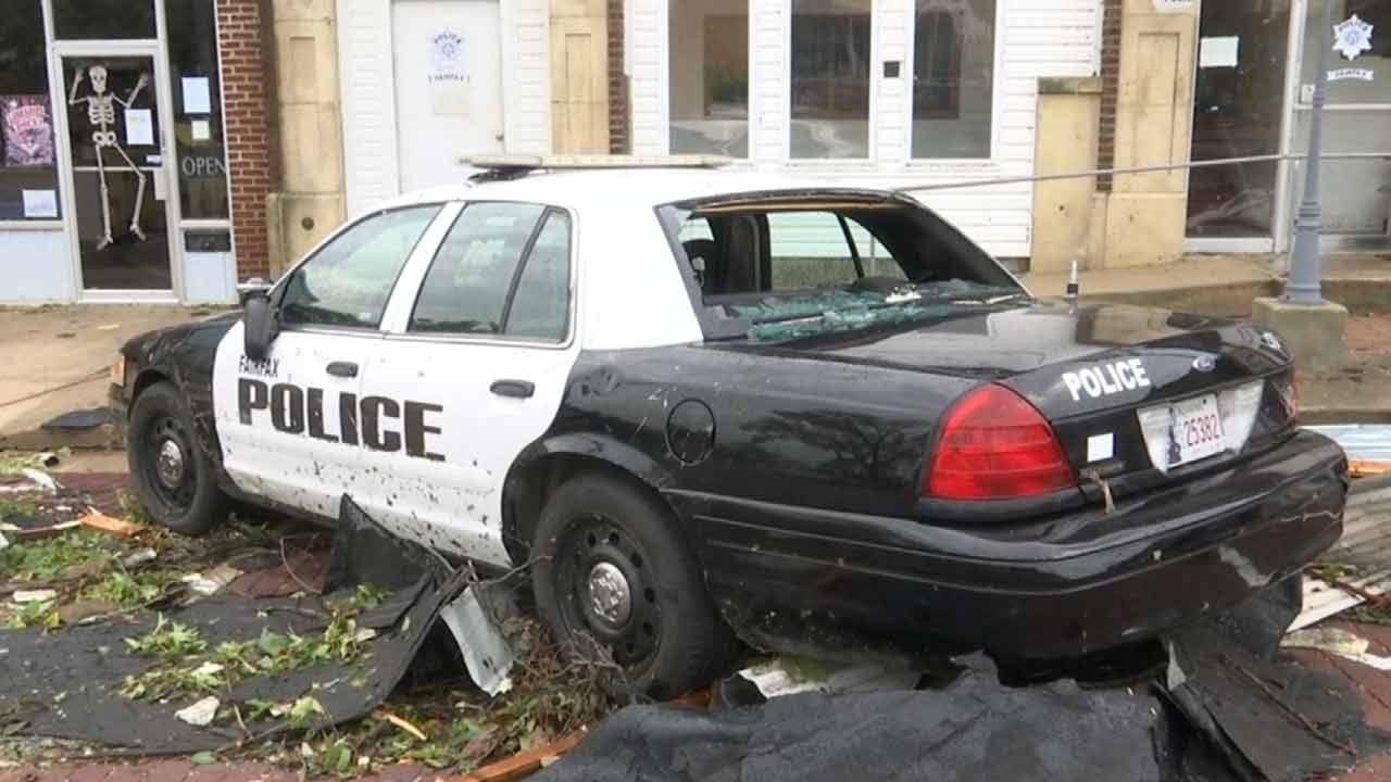 Fairfax Cleans Up After Sunday Tornado