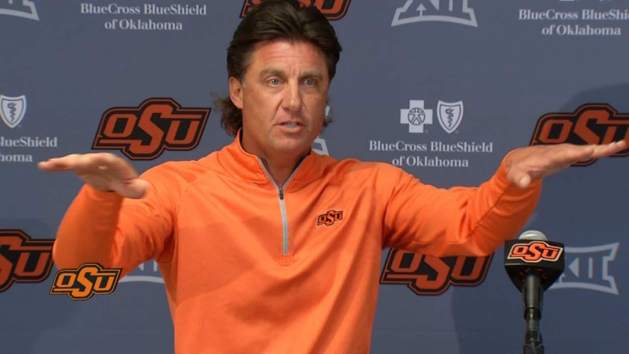 Gundy Not Discouraged By Iowa State Win