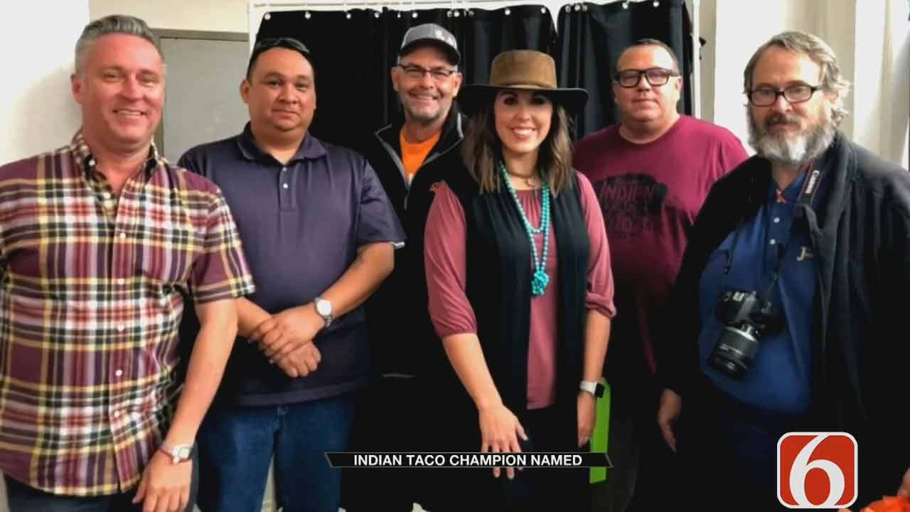Pawhuska Names Indian Taco Champion