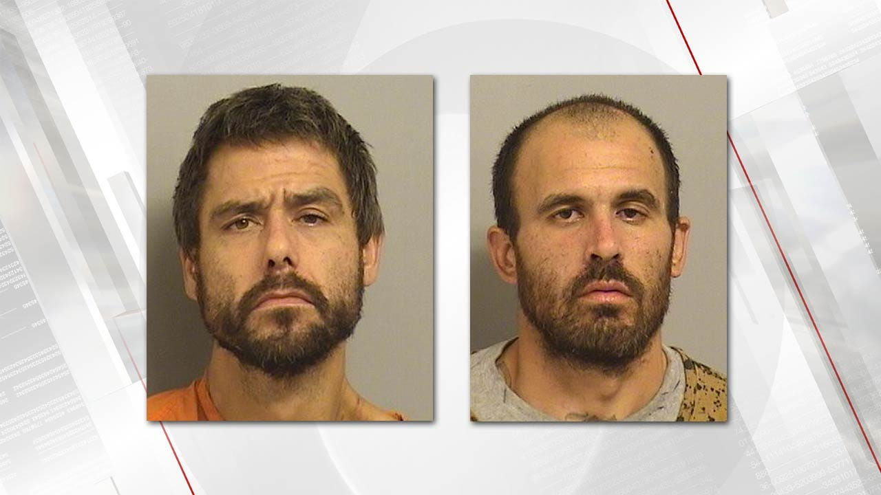 Police Catch Two Tulsa Burglary Thieves Following Stolen Minivan Chase