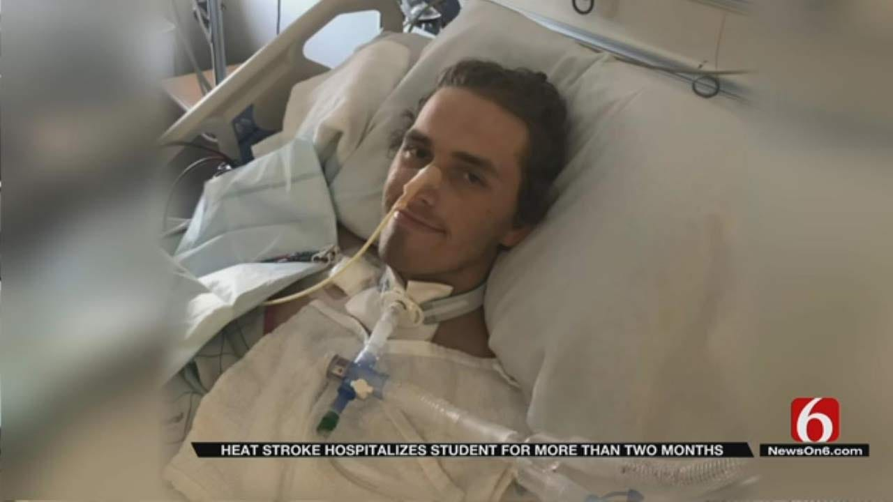 Tulsa College Athlete Slowly Recovering From Heat Stroke
