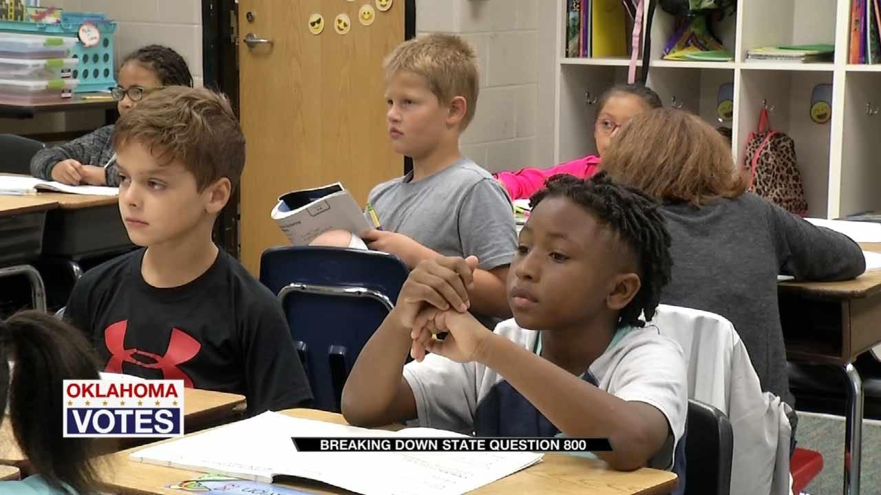 Oklahoma Educators Say SQ 800 Would Cost Schools Millions