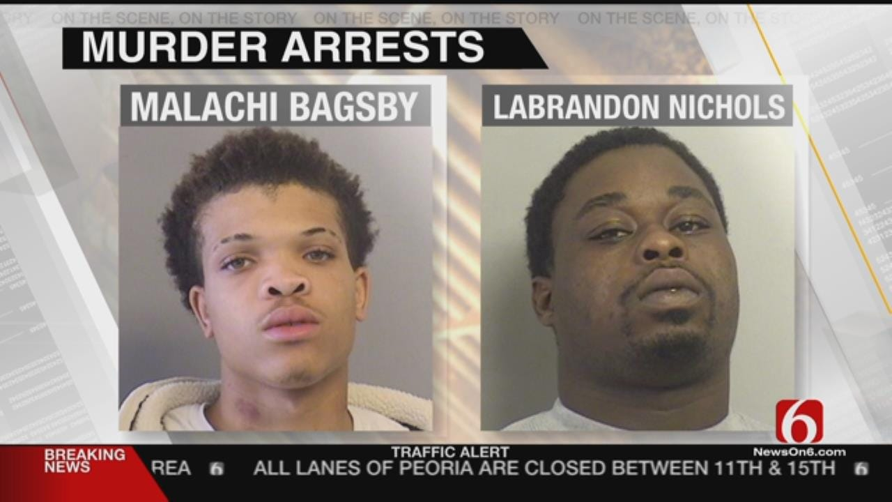 Tulsa Police Arrest Two Suspects In July Homicide