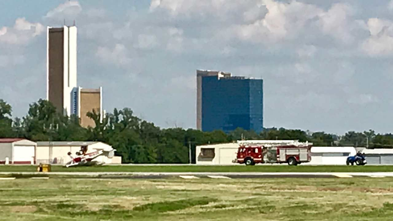 Fire Crews Investigating Plane Crash At Jones Airport In Jenks