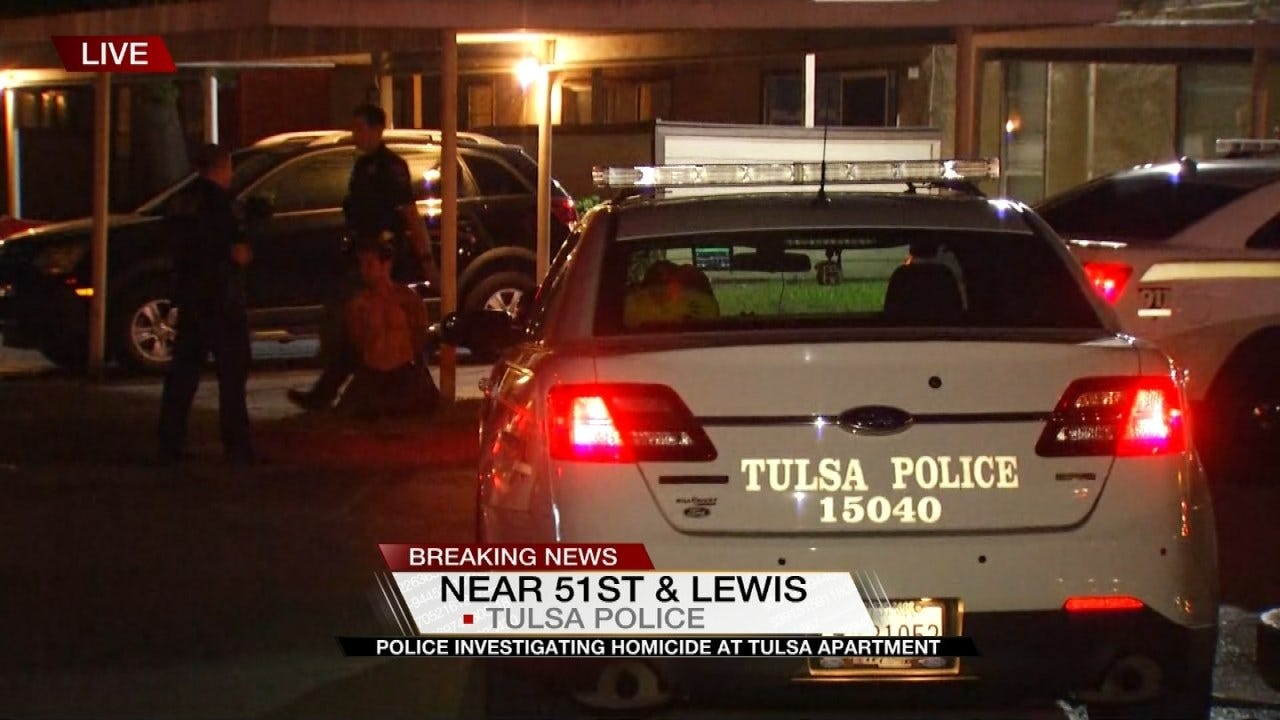 Tulsa Police Investigating Homicide At Apartment